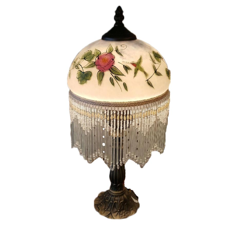 """Cosmos Gifts 8""""D Lamp/Hummer Table Lamp"""