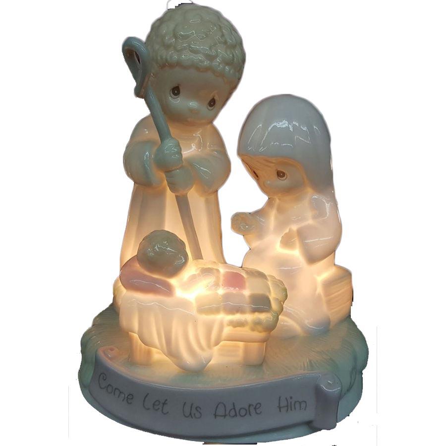 Precious Moments Nativity Nightlight