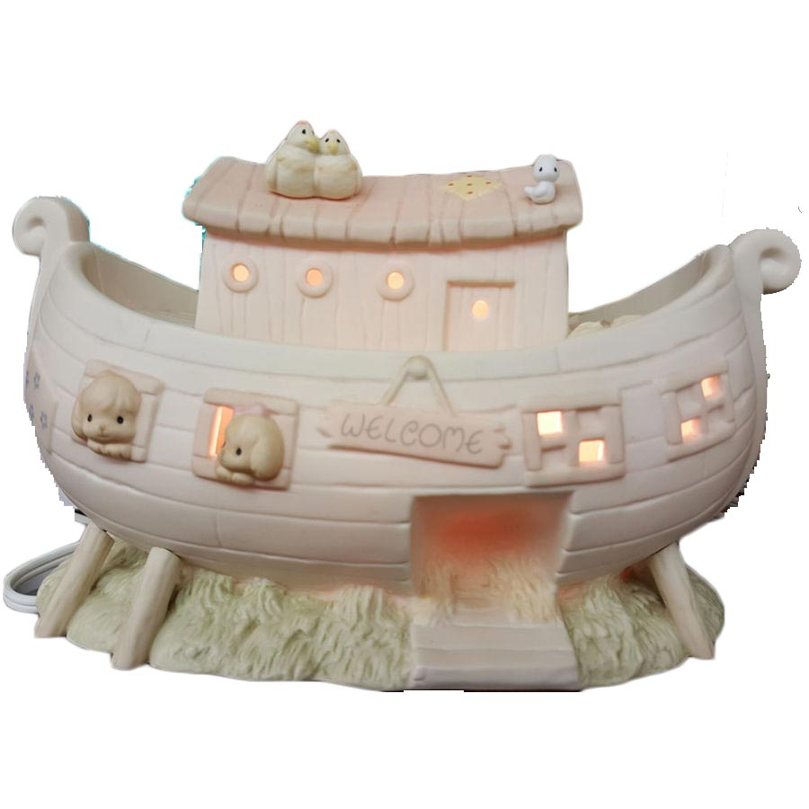 Precious Moments Two By Two Noah's Ark Nightlight