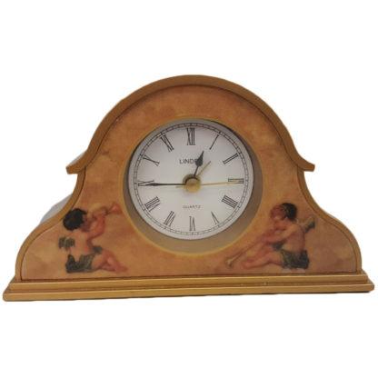 Linden Trumpeting Angel Motif Alarm Clock