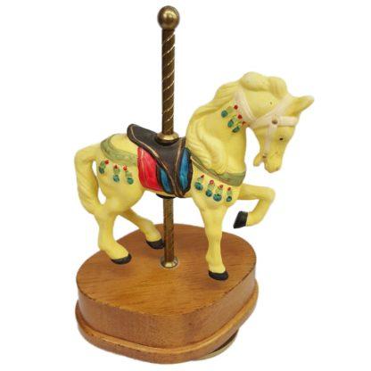 Yellow Horse Carousel