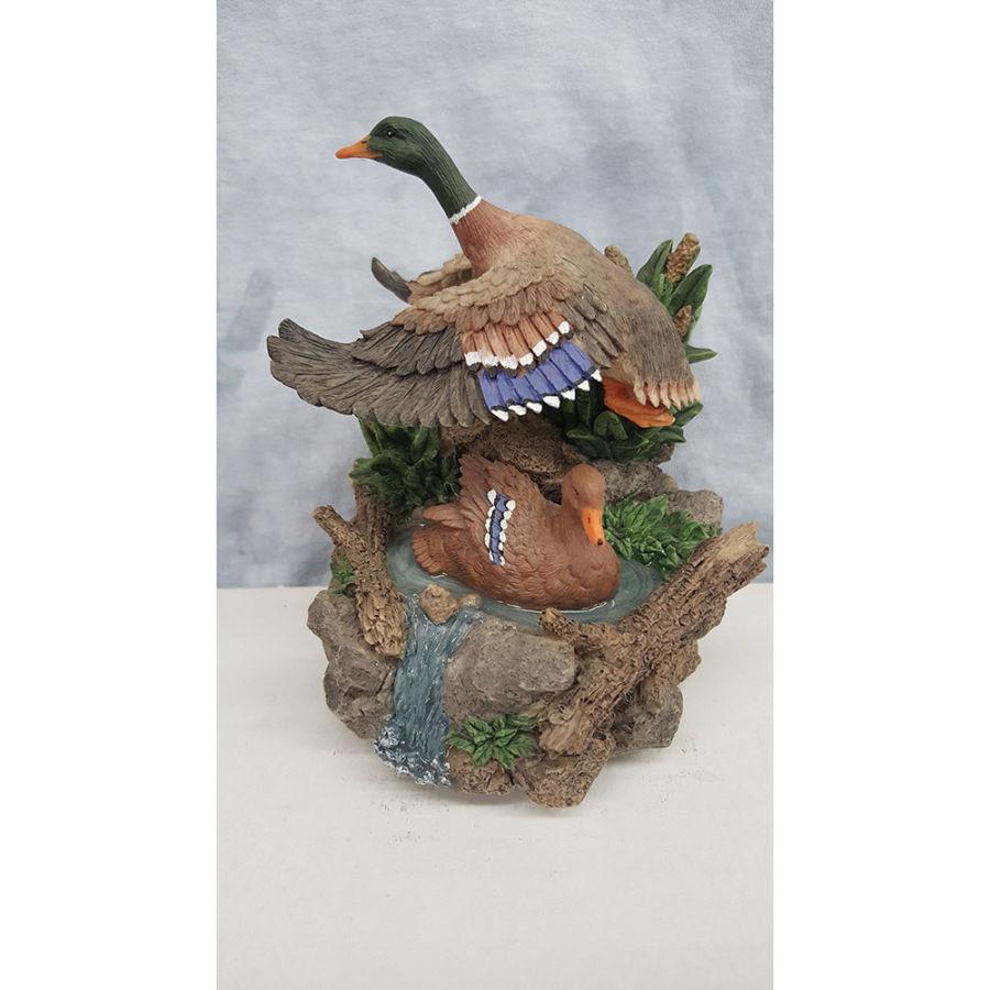 Westland Giftware Mallard Ducks Musical Figurine