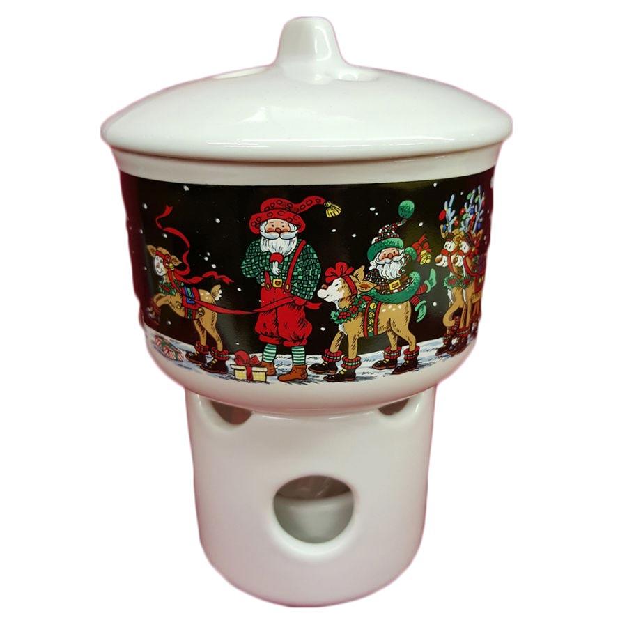 Potpourri Room Scenter Candle Holder by Potpourri Press Santa