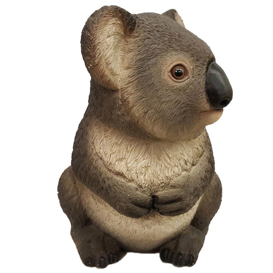 Porcelain Koala Coin Piggy Bank