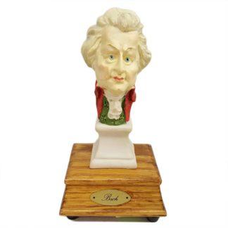 Bach Bust Musical Statuette