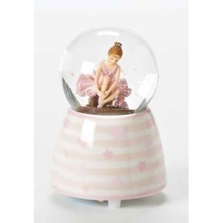 "3.5"" Ballerina Musical Glitterdome Fur Elise"