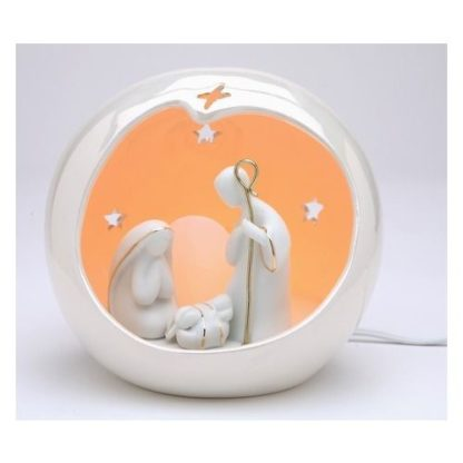 Appletree Design Small Globe Holy Family Night Light