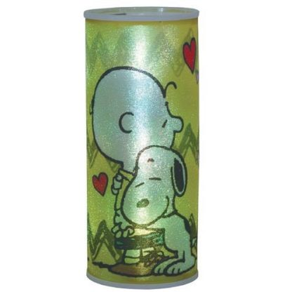Westland Giftware Peanuts Hugs Cylindrical Nightlight