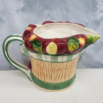 Young's Ceramic Apple Water Pitcher