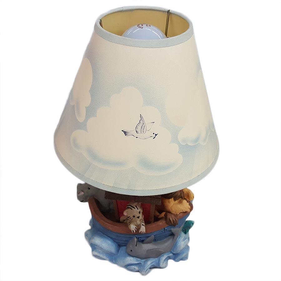 Figi Graphics Noah's Ark Bedroom Lamp