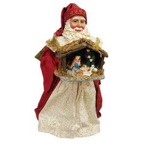 Possible Dreams Santa with Nativity