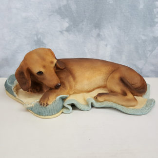 United Design Classic Critters Dachshund with Slippers Statue