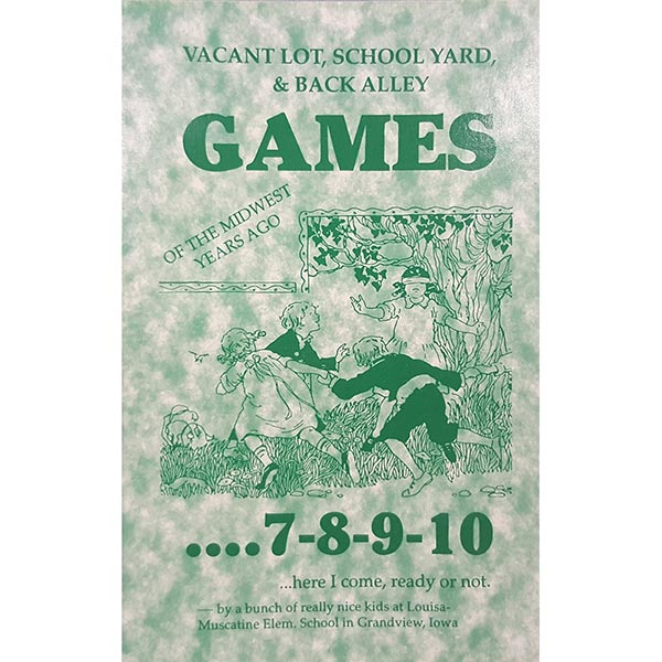 Vacant Lot, School Yard, and Back Alley Games