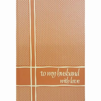 To My Husband With Love by C. R. Gibson Company