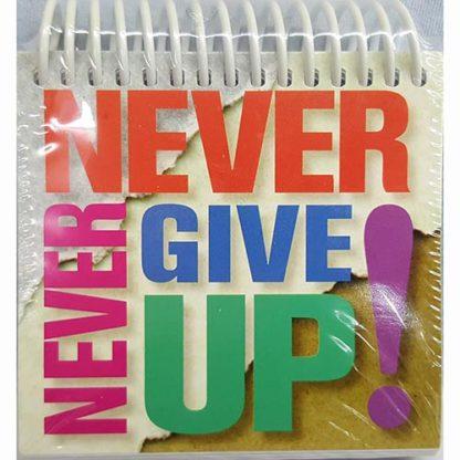 Never...Never Give Up by Marlene Rimler
