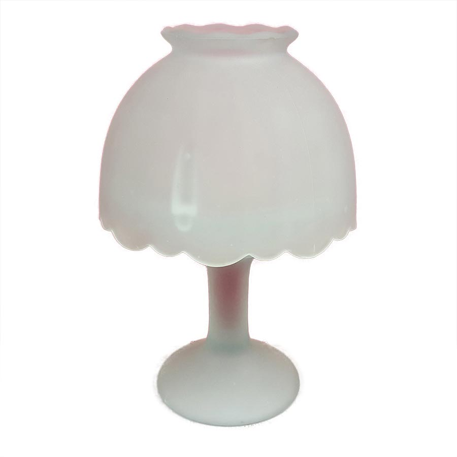 Frosted Glass Candle Holder