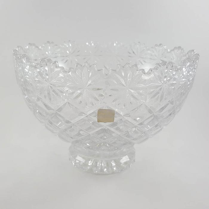 Crystal Clear Crystal Brussels Bowl