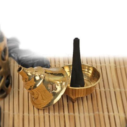Gonesh Brass Cone Incense Burner