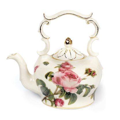 Burton and Burton Romantic Rose Porcelain Teapot