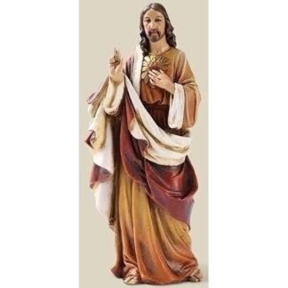 """Joseph Studio Sacred Heart of Jesus Statue - 6.25"""""""