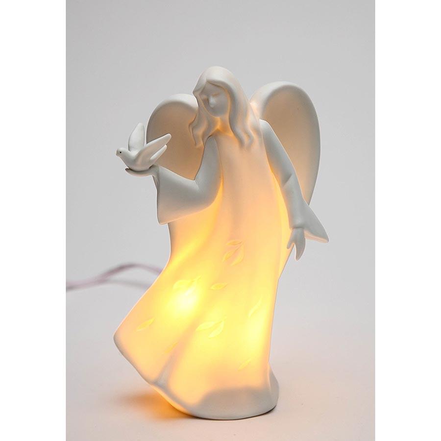 Appletree Design Angel Holding Dove Night Light