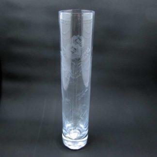 Stylesetter Crystal Rosecut Bud Vase