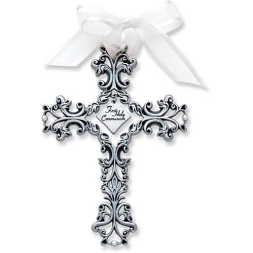 First Holy Communion Filigree Cross
