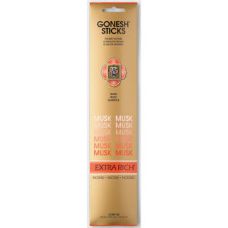 Gonesh Extra Rich Collection - Musk Incense
