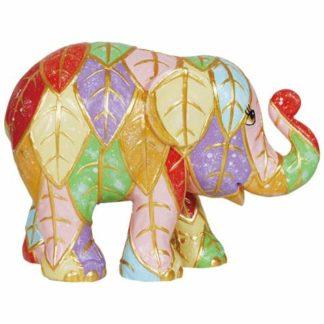 Westland Giftware Elephant Parade Leaves Figurine