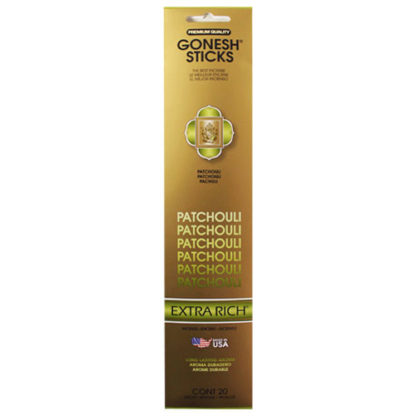 Gonesh Extra Rich Collection - Patchouli Incense