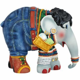 Westland Giftware Elephant Parade Shopping Queen Figurine