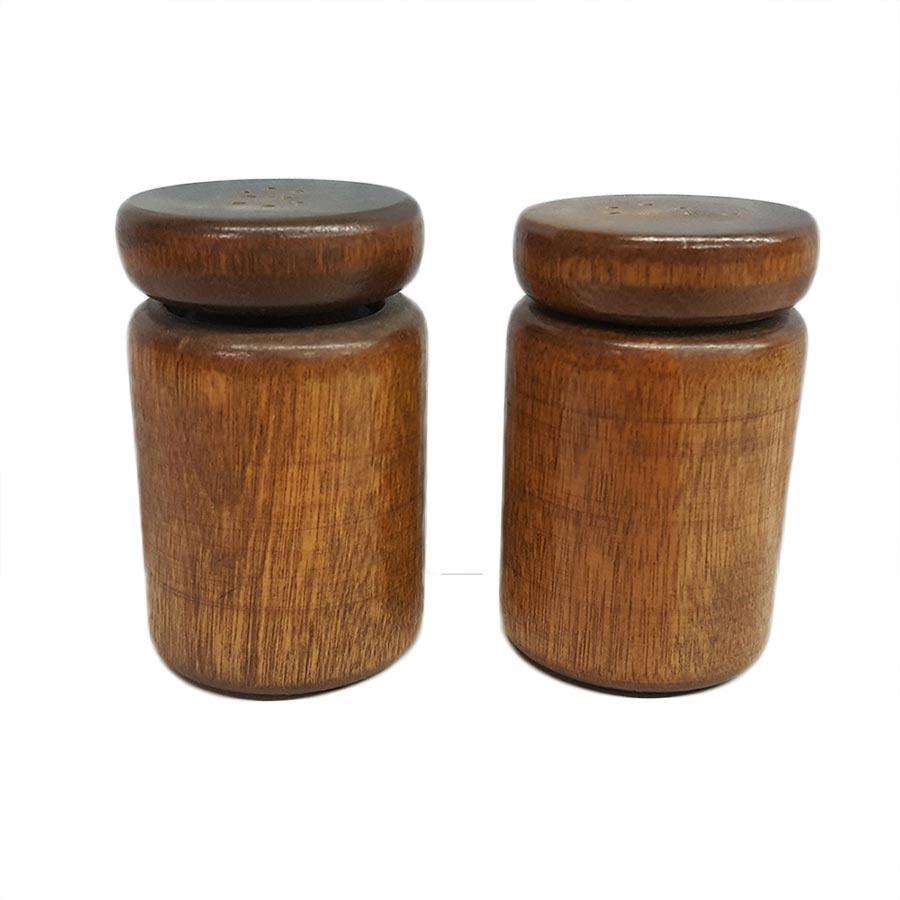Vermont Wood Salt and Pepper Shaker Set