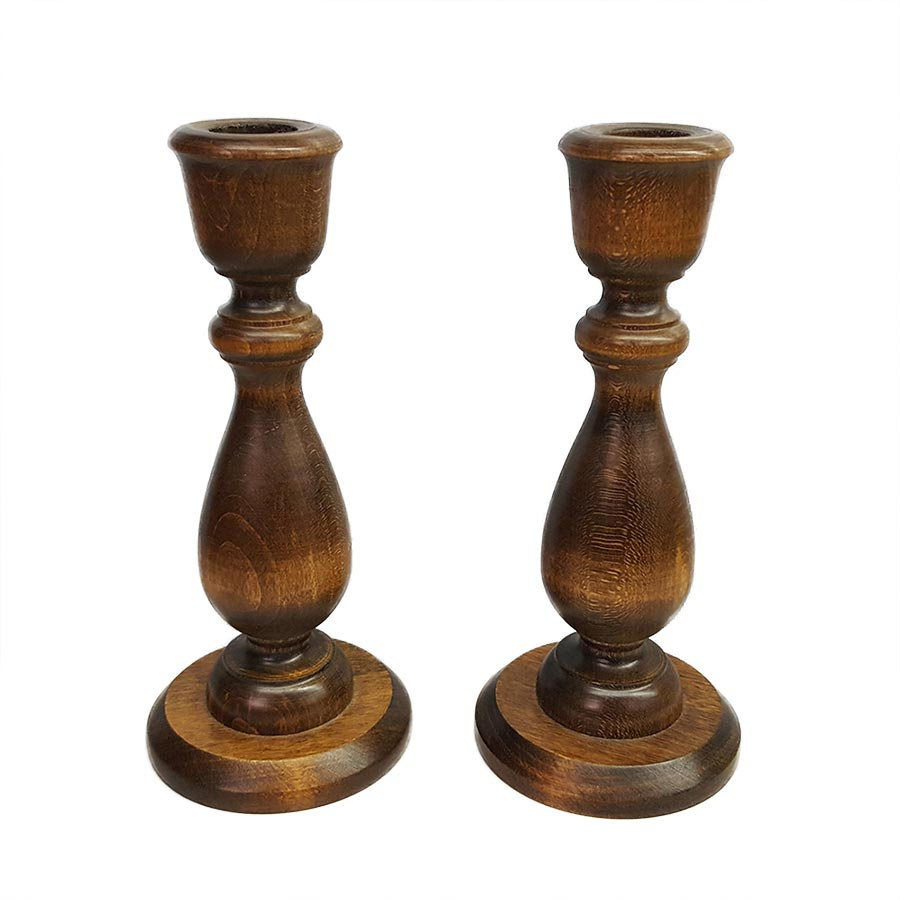 Vermont Wood Specialties Candle Holder Pair
