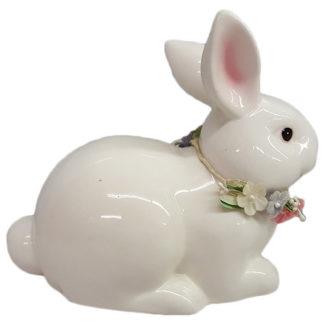 Russ Berrie Porcelain Sitting Bunny