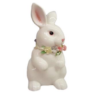Russ Berrie Porcelain Standing Bunny