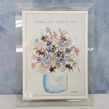 Flavia Musical Moments Flowers In Vase Picture Frame