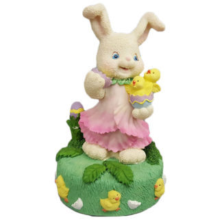 Porcelain Easter Bunny Girl