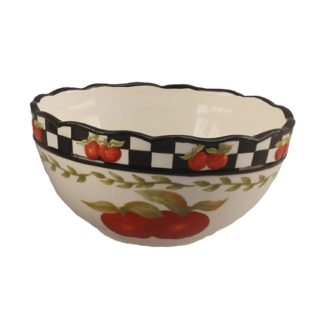 Young's Ceramic Apple Serving Bowl