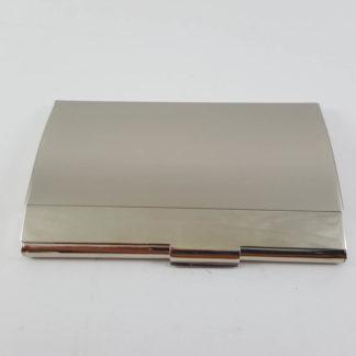 Sanis Silver Business Card Holder Case