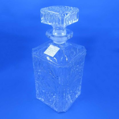 Crystal Clear Crystal Decanter & Stopper