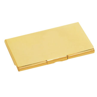 Sanis Gold Business Card Holder Case