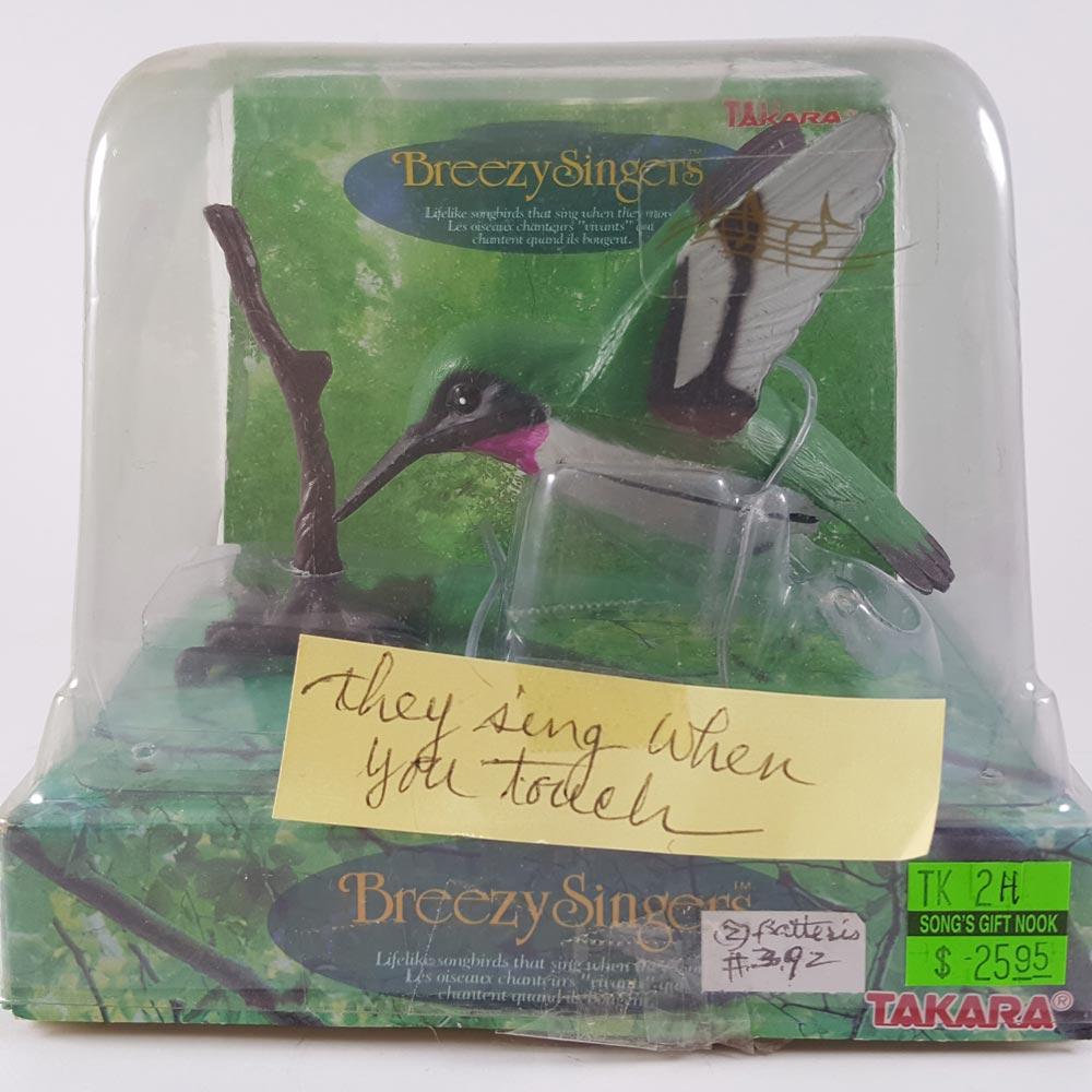 Takara Breezy Singer Bird, Hummingbird