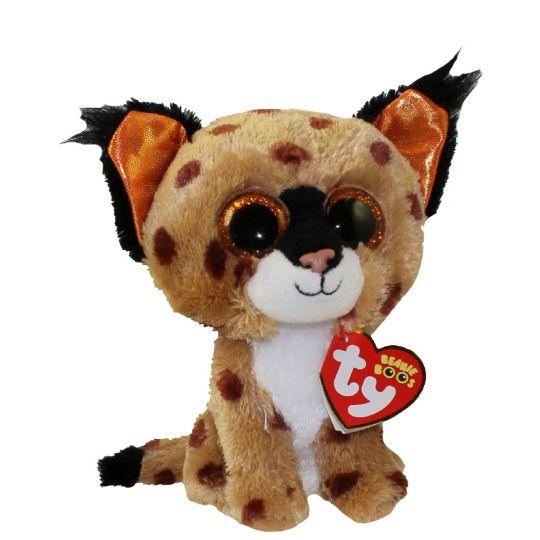 Ty Beanie Boos - Buckwheat the Lynx (Glitter Eyes)