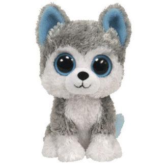 Ty Beanie Boos - Slush the Husky (Solid Eye Color)