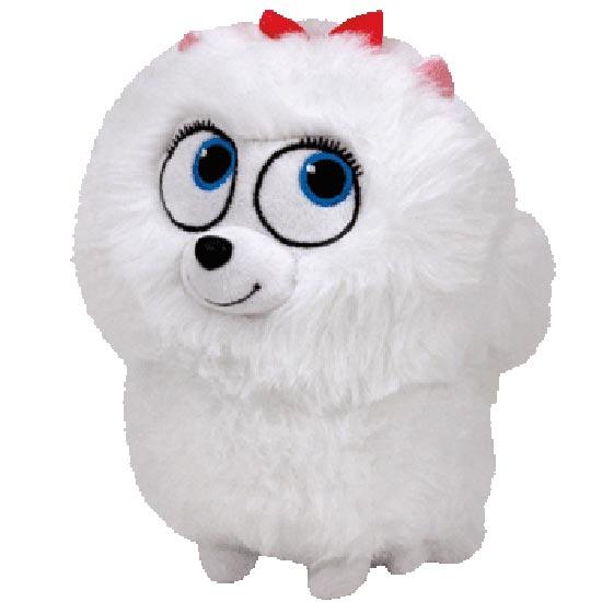 TY Beanie Baby - Gidget the Pomeranian Dog (Secret Life of Pets)