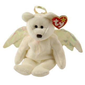Ty Beanie Baby - Halo the Angel Bear