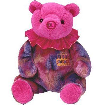Ty Beanie Baby - January the Birthday Bear