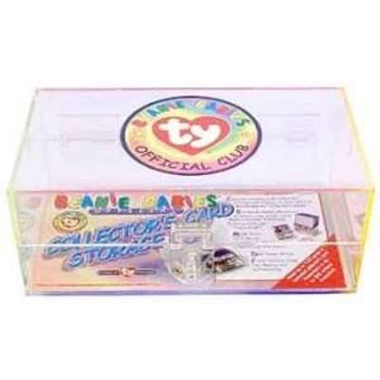 TY Beanie Babies Official Club Collector's Card Storage Box