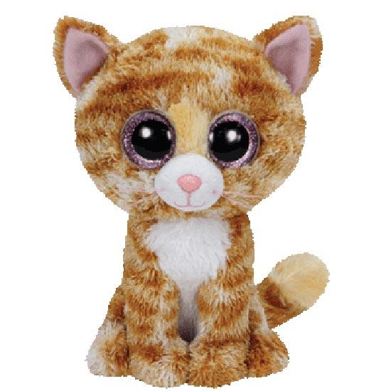 Ty Beanie Boos - Tabitha the Tabby Cat (Glitter Eyes)