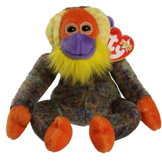 Ty Beanie Baby - Bananas the Monkey